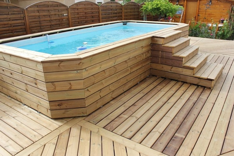 Comment habiller une piscine Intex ?
