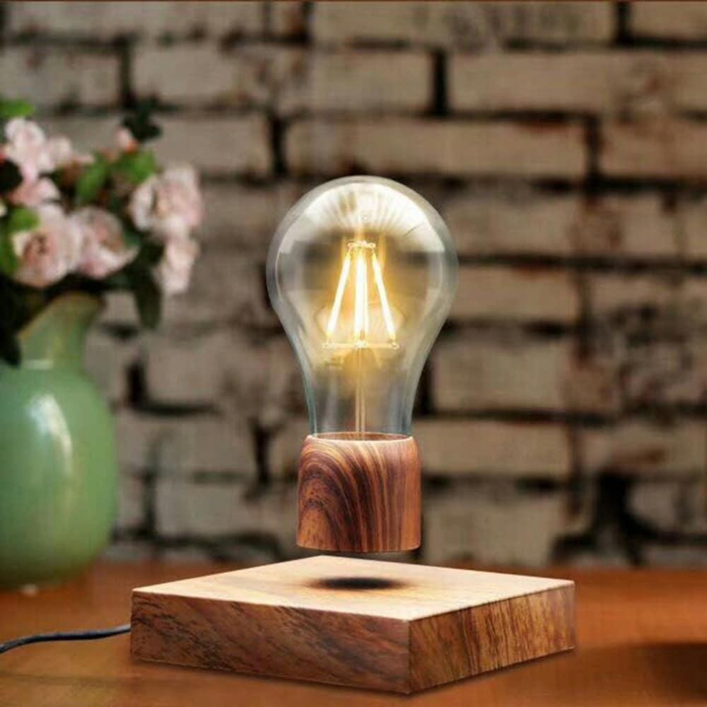 Une lampe à incadescence