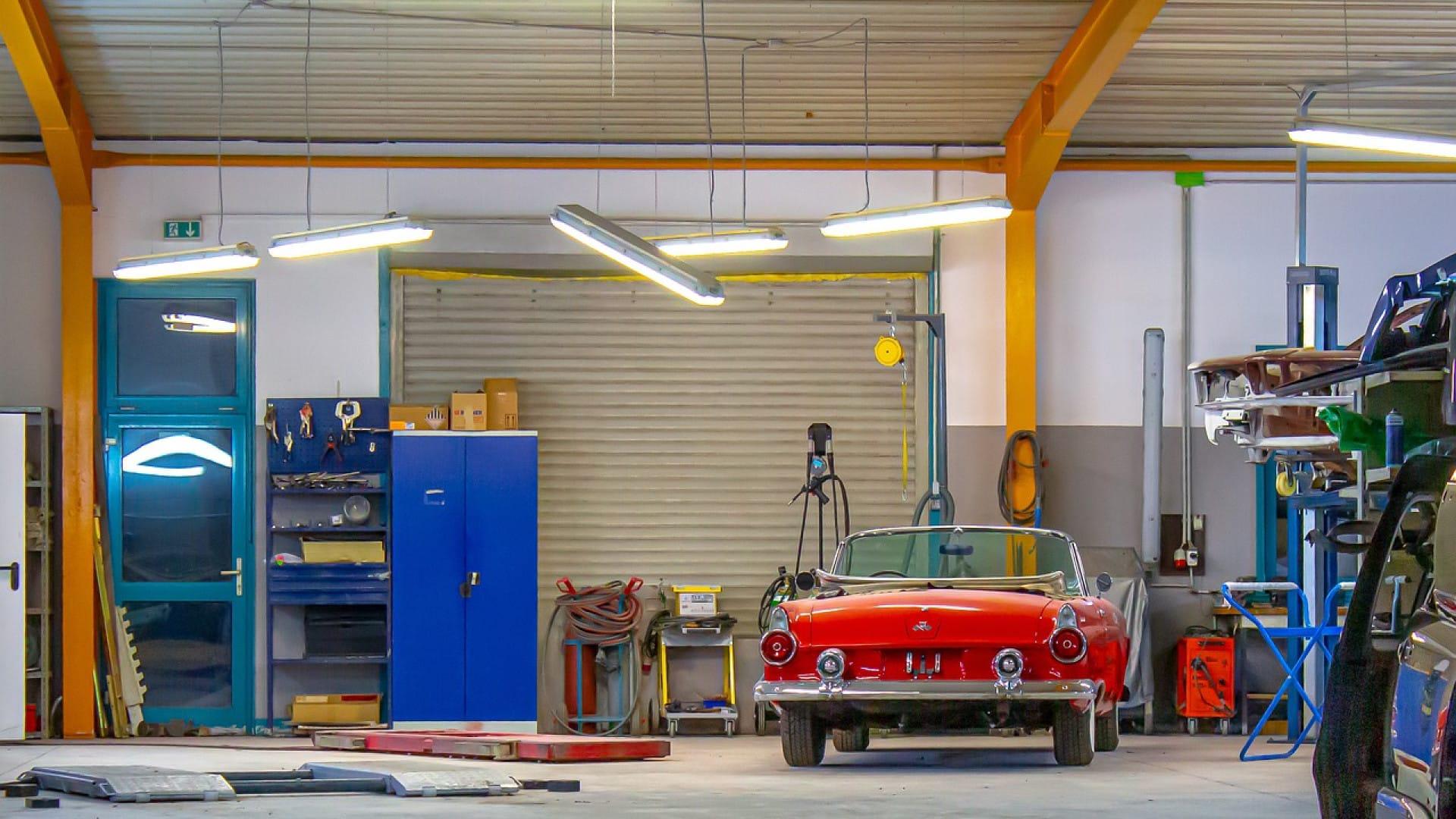 Quel revêtement idéal pour un garage professionnel ?