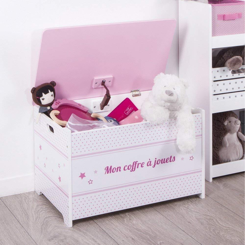 Le coffre à jouets, l'indispensable de la chambre d'enfant