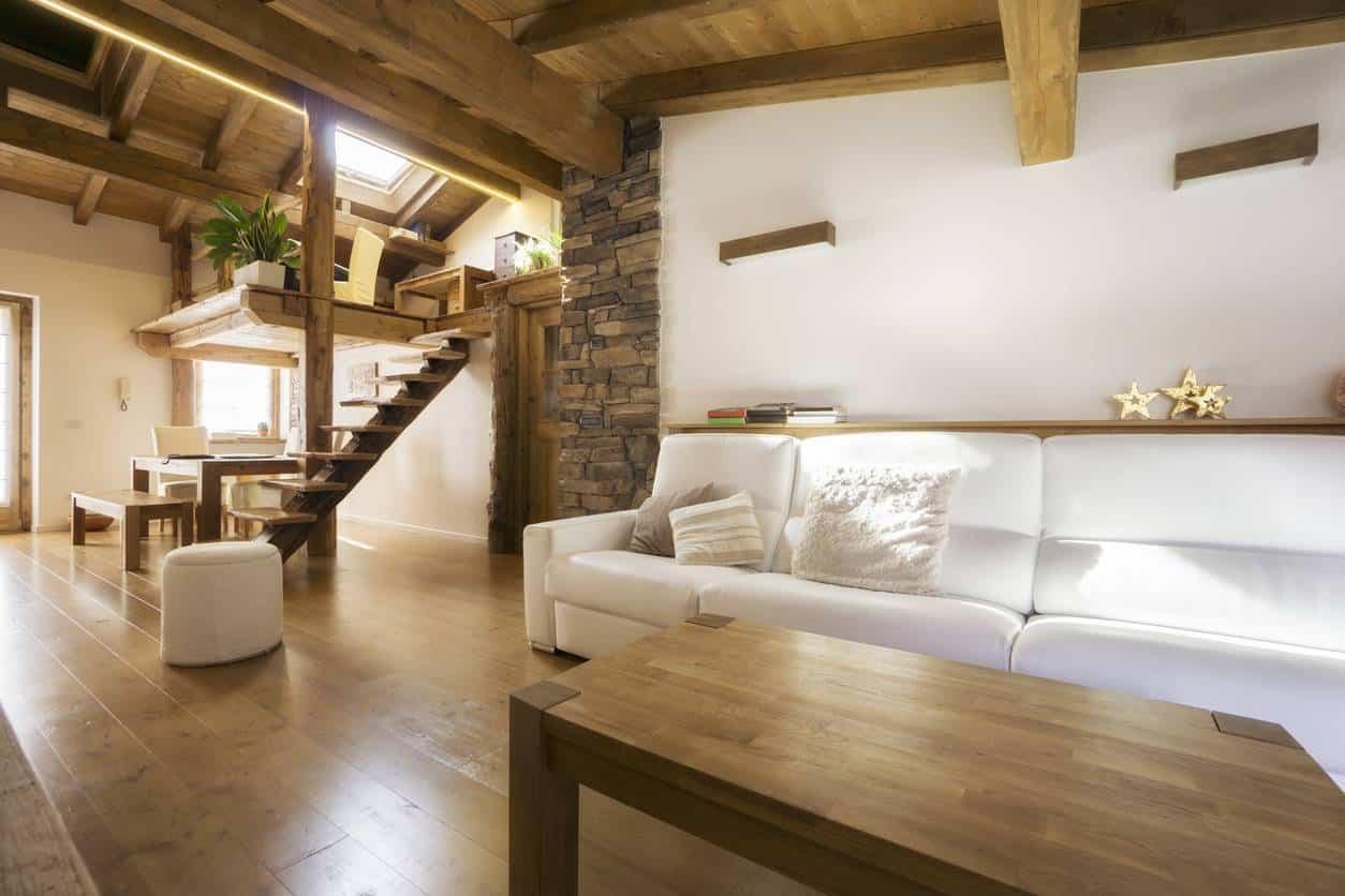 décoration meuble chalet