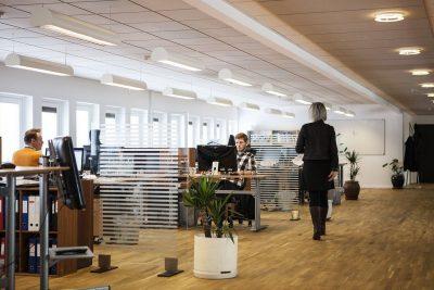 Un espace de bureaux